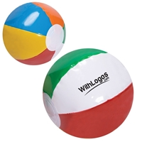 "Picture of Custom Printed 6"" Multi Color Beach Ball"