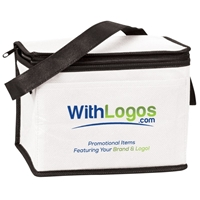 Picture of Custom Printed Full Color 6 Pack Nonwoven Cooler Bag