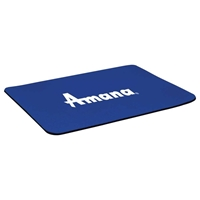 Custom Printed Mouse Pad in blue
