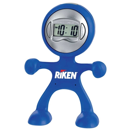 Picture of Custom Printed Flex man Digital Clock