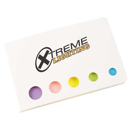 Picture of Custom Printed Accent Sticky Flag Booklet