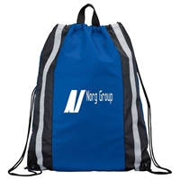 Picture of Reflective Drawstring Cinch Backpack
