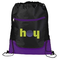 Picture of Custom Printed Libra Drawstring Cinch Backpack