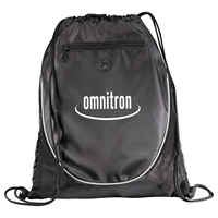 Picture of Custom Printed Peek Drawstring Cinch Backpack