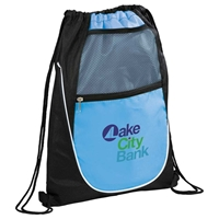 Picture of Custom Printed Locker Drawstring Cinch Backpack