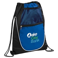Picture of Custom Printed Locker Drawstring Cinch Backpack