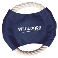 Personalized Pet Rope Disc