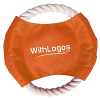 Pet Rope Disc with Logo