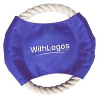 Branded Pet Rope Disc