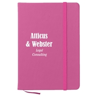 5 x 7 Notebook With Logo