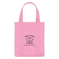 """Picture of Non-Woven Shopper Tote Bag 13"""" W x 15"""" H x 10"""" D"""