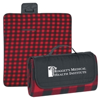 Roll Up Picnic Blankets with Logo