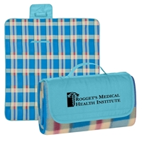 Personalized Roll Up Picnic Blankets