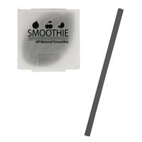Custom Silicone Straw - Black