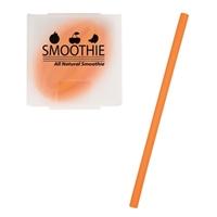 Custom Silicone Straw - Orange