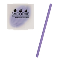 Custom Silicone Straw - Purple