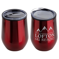 Picture of Custom 12 oz Stainless Steel Wine Goblet
