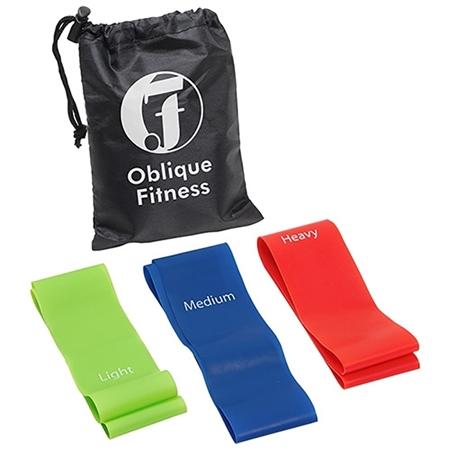 Customizable 3-Piece Fitness Band Set