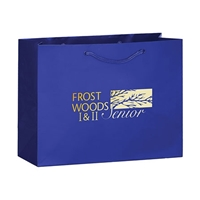 Picture of Foil Stamp Gloss Euro Tote Bag 13x5x10