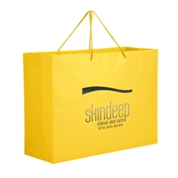 Picture of Foil Stamp Matte Euro Tote Bag 16x6x12
