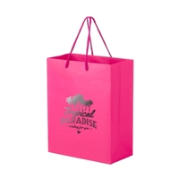 Picture of Foil Stamp Matte Euro Tote Bag 8x4x10