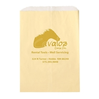 Imprinted Glassine Lined Paper Food Bags