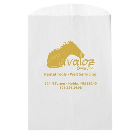 Promotional Glassine Lined Paper Food Bags