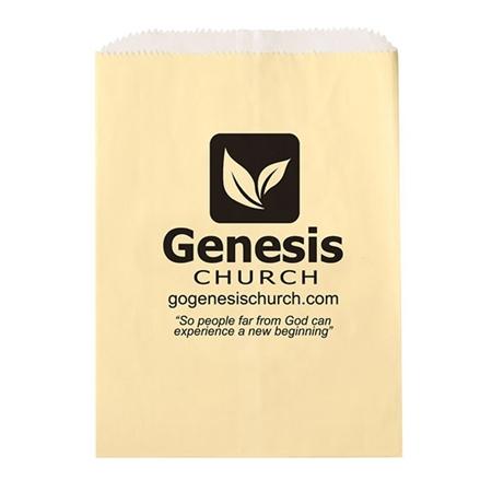 Custom Glassine Lined Paper Food Bags