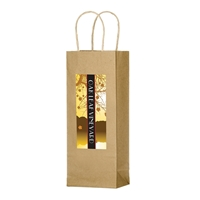 Custom Kraft Paper Wine Bag