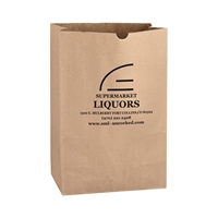 Picture of Kraft Large Grocery Bag 11x6x17