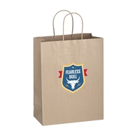 Picture of Full Color Matte Paper Bag 10x5x13