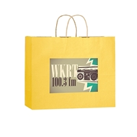 Picture of Full Color Matte Paper Bag 16x6x13