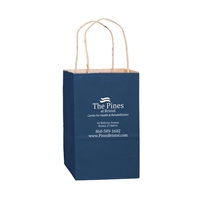 Imprinted Paper Retail Shopping Bags