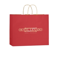 Personalized Paper Retail Shopping Bags