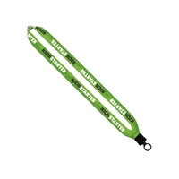 """Picture of 3/4"""" Lanyard with Plastic Clamshell and Plastic O-Ring"""