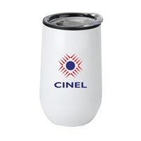 Picture of Custom 14 oz Economy Stainless Steel Stemless Wine with Plastic lining