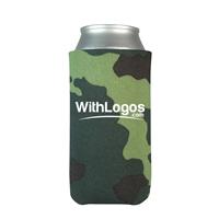 Camouflage Personalized 8 oz. Slim Koozie
