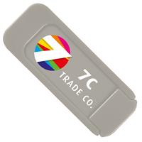 Silver Custom Security Webcam Cover