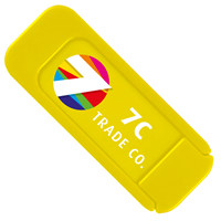 Yellow Customized Webcam Cover