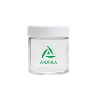 Customized Premium Glass Marijuana Jar
