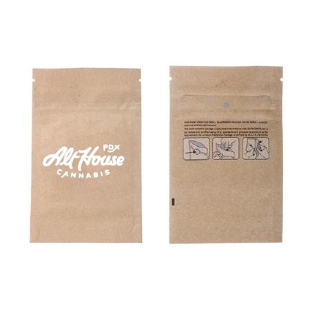 Custom Printed Cannabis Baggies