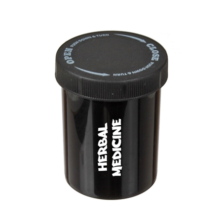 Promotional Cannabis Push and Turn Container
