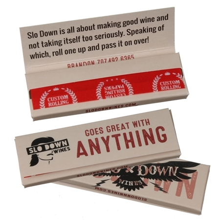 Promotional Single Width Rolling Papers