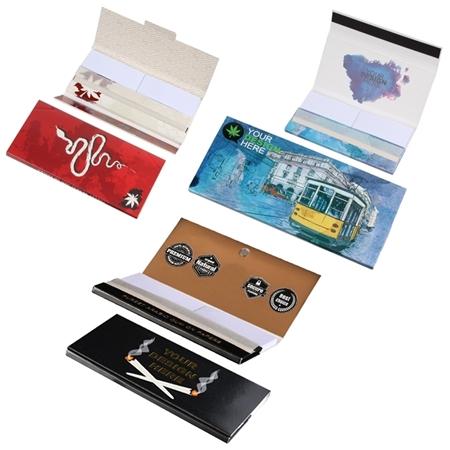 Custom Printed Rolling Paper Filter Packs
