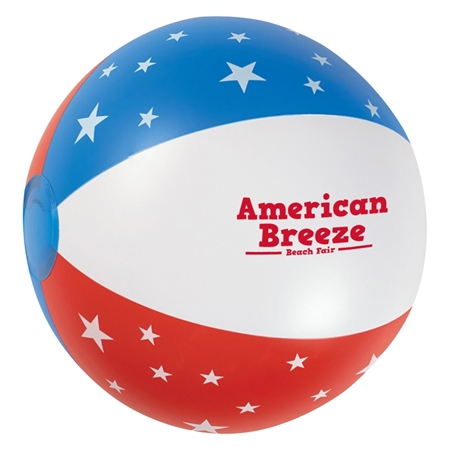 "Picture of Custom 16"" USA Patriotic Beach Ball"