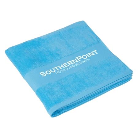 Blue Custom Beach Towels