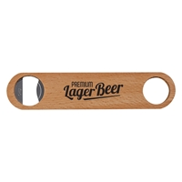 Picture of Custom Large Wood Bottle Opener