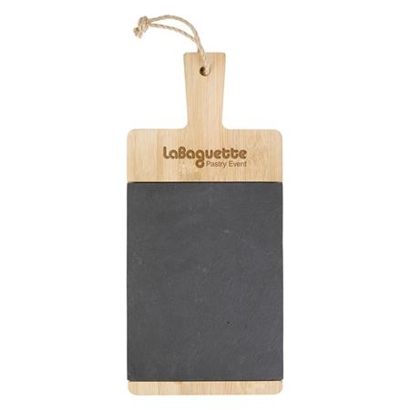 Picture of Custom Bamboo & Slate Charcuterie Cutting Board