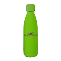Personalized Matte Lime Stainless Steel 17oz Bottle