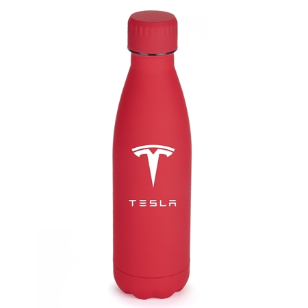 Promotional Matte Red Stainless Steel 17oz Bottle
